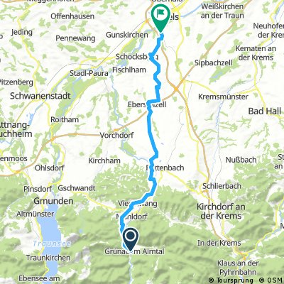 Grünau im Almtal, R11 nach Schauersberg