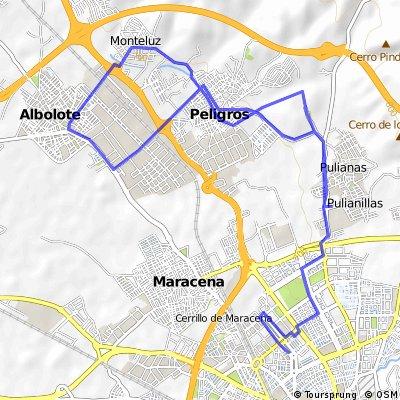 3a etapa vuelta a la vega (crono)