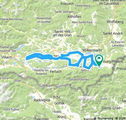 Vespa - Vier Seen Tour