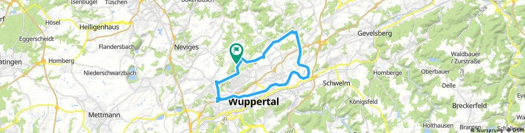 Radrunde durch Wuppertal
