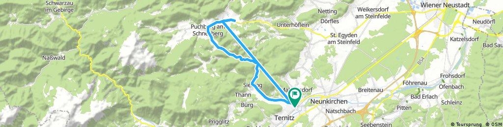 bike tour through Ternitz
