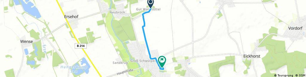 Kurze Ausfahrt von Adenbüttel nach Schwülper
