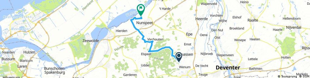 Tour de Epe 2017   Etappe 05   Wenum/Wiesel - Nunspeet   Mountain Stage