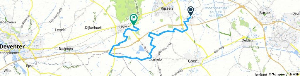 Tour de Epe 2017   Etappe 11   Enter - Holten   Sprinter Stage