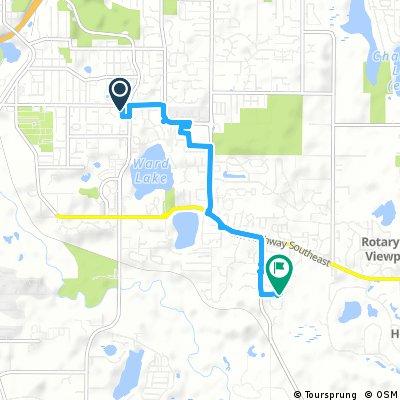 Short bike tour through Olympia