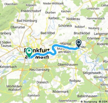 Von Hanau Nach Frankfurt