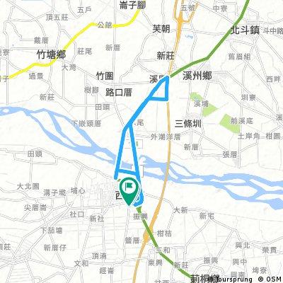 bike tour through Siluo Township