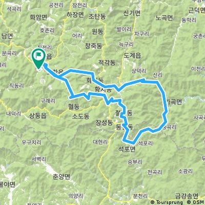 강원랜드-두문동재-석개재-만항재-강원랜드