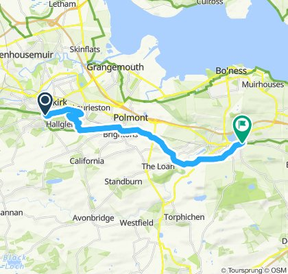 St Ninian's Way- Falkirk to Linlithgow