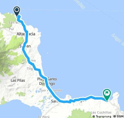 Ometepe: Puerto de Gracias - Punta Gorda