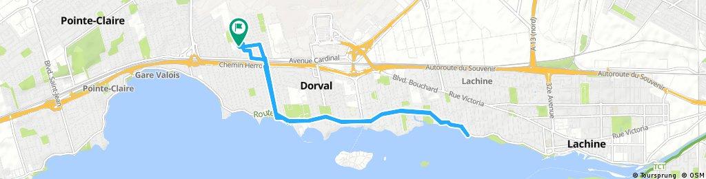 Eastwards To Lachinè.