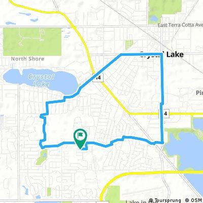 Daniel's Morning Bike Trail
