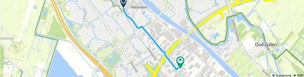 Quick ride from Maarssen to Utrecht