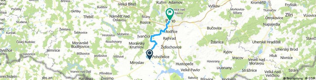 MWD7 Branisovice - Brno