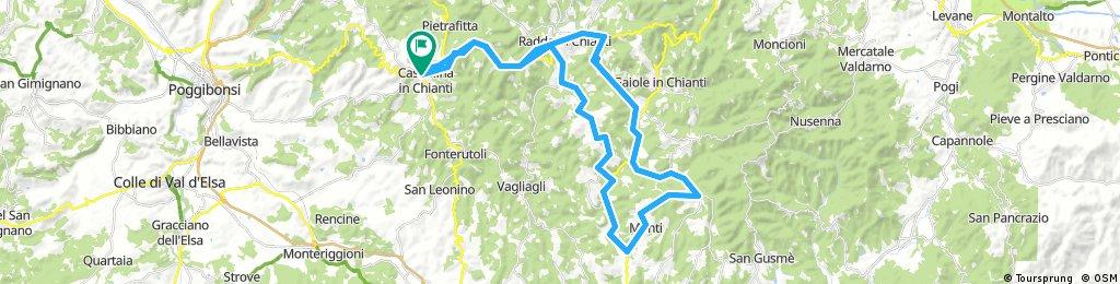 Ricardo Castillina through Lecchi loop
