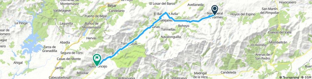 ET4 navalperal-navaconcejo 60.4km