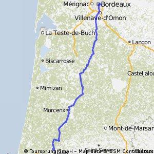 Bordeaux - Saint Paul Les Dax
