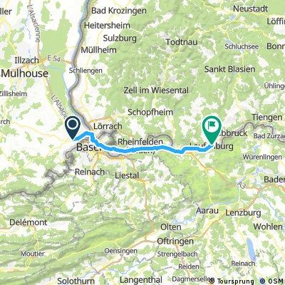 Hesingue - Laufenburg
