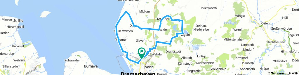Bremerhaven - Flögeln - Dorum