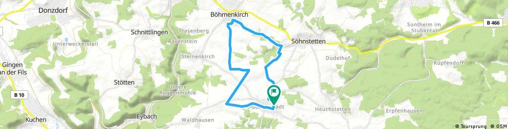 Tour Böhmenkirch Klari