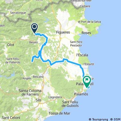 Volta Catalunya day 7  Mare de Deu del Mont to Calella