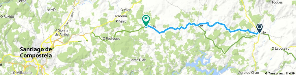 Camino Francés Day 8 Melide→Santiago de Compostela