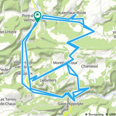Le Lomont la totale 78km
