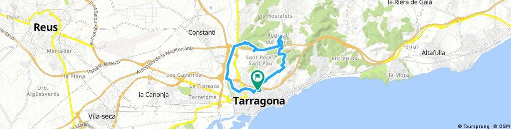 ride through Tarragona