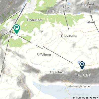 Zermatt - Gornergrat Classic - Empfohlen von Supertrail-Map.com