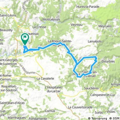 2016 Ride Day 164 - Millau Circle to Col de la Pierre Plantée