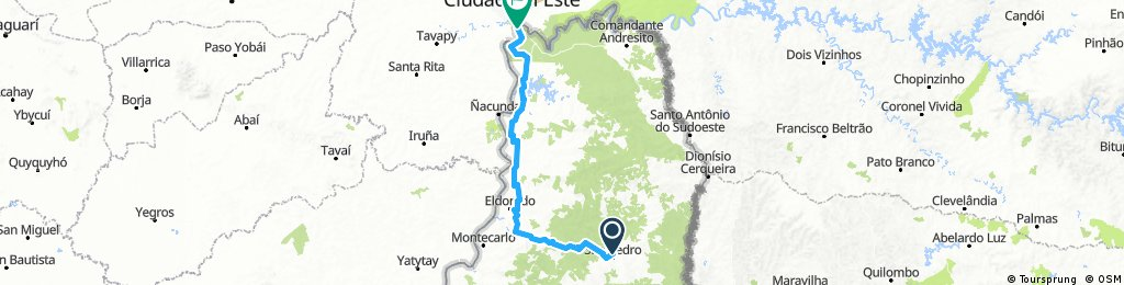 Etappe11_San-Pedro-AR_Iguazu-AR_KM50_Argentina