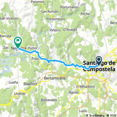 Santiago de Compostela - Negreira