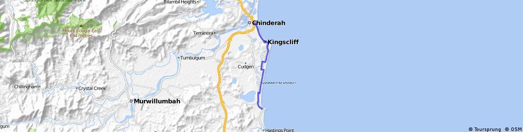 Cabarita-North Kingscliffe one way