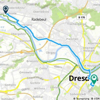 Altkötzenbroda - Dresden Grosser Park Eisenbahn