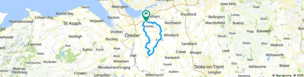 65km Tarporley-Oulton