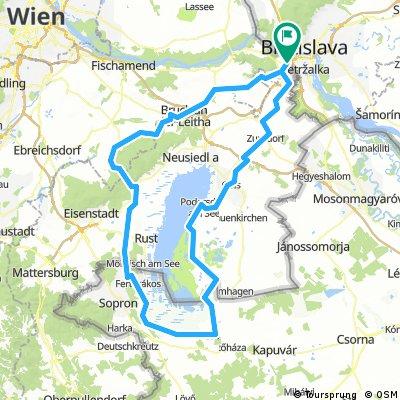 Rund um den Neusiedlersee, v1.0 [184km/560hm]