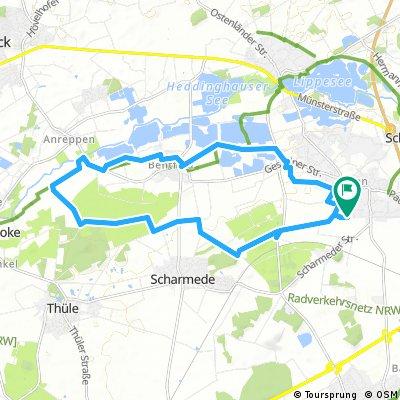 Aus Elsen zum Römerlager - gemütliche Radtour