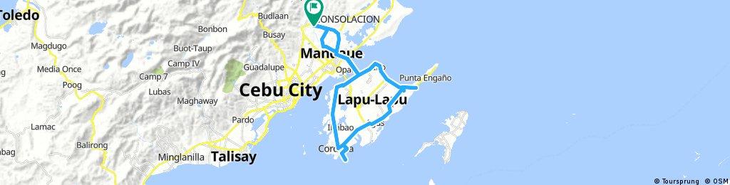 Long bike tour through Canduman