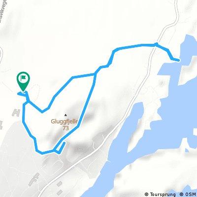 Brief ride through Rørvik