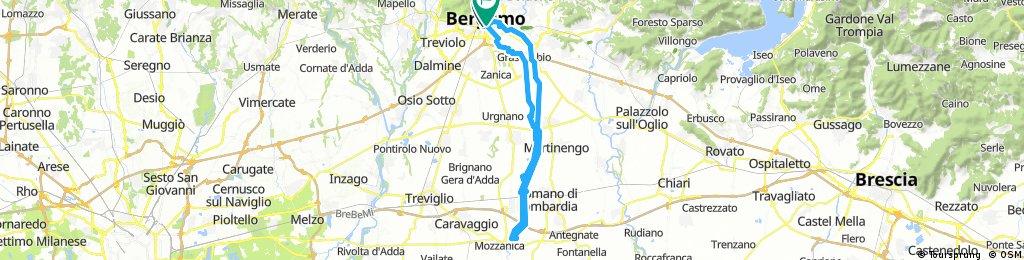 Ciclabile del Serio fino al ponte di Mozzanica