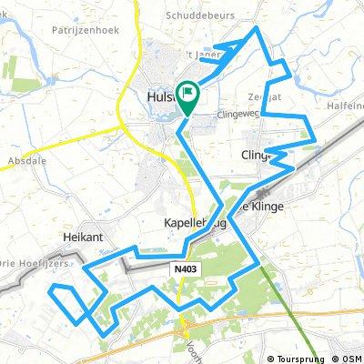 MTB Route Hulst (aangepast)