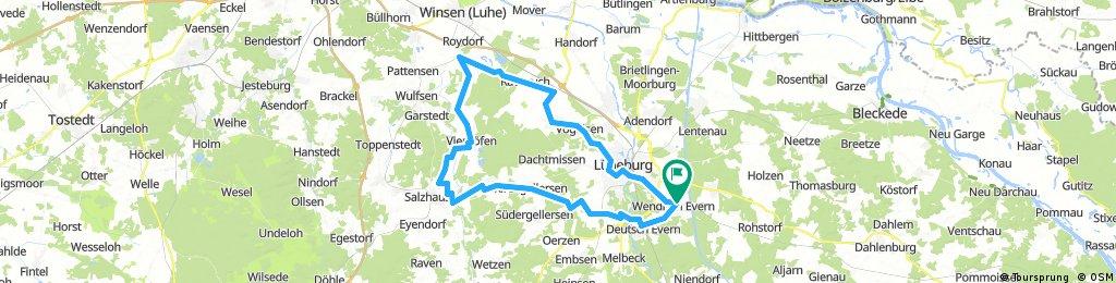 66km Trainingsrunde