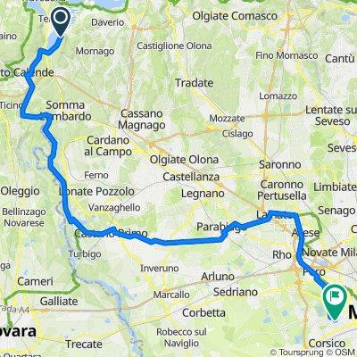 Varano Borghi - Sesto Calende - Castano Primo -Lainate - Milano Lorenteggio