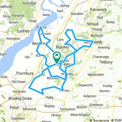 Cotswold Edge Sportive (130km Full Route)