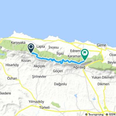 Bike - Karsiyaka - St Hilarion - one way