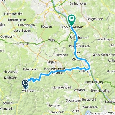 Ahrbrück - Königswinter