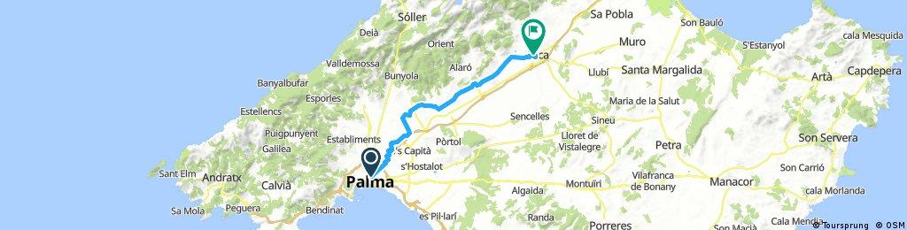 Mallorca: Palma-Inca (I)