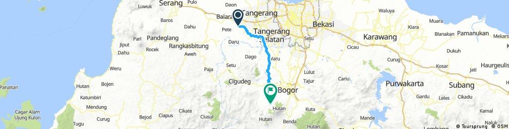 Bike Camp Curug Ciputri Bogor 26-27/11/16