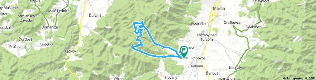 Slovianskou a Valčianskou dolinou