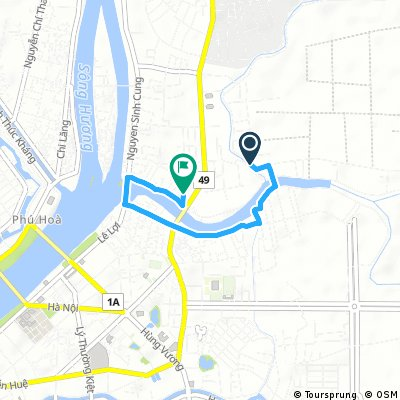 Hue Cycling Tour - Up Nhu Y River